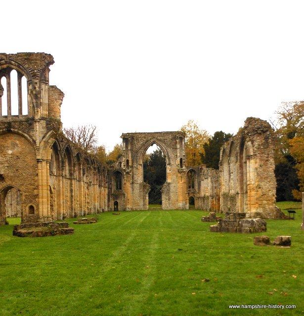 Netley Abbey church