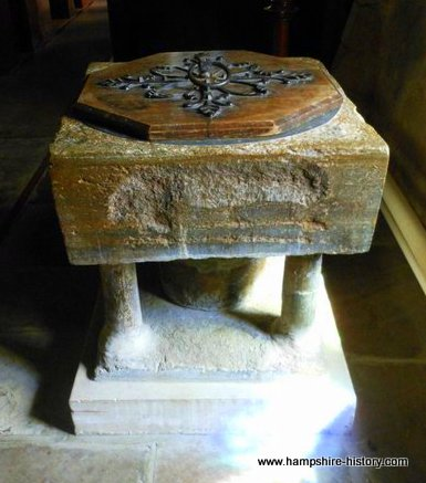 Baptismal Font Buriton
