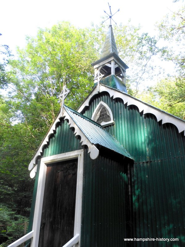 Church in the woods Bramdean