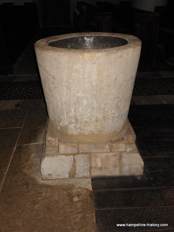 Baptismal Font Crondall