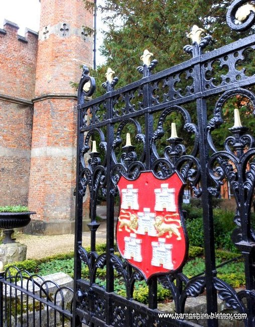 Abbey House gates Winchester