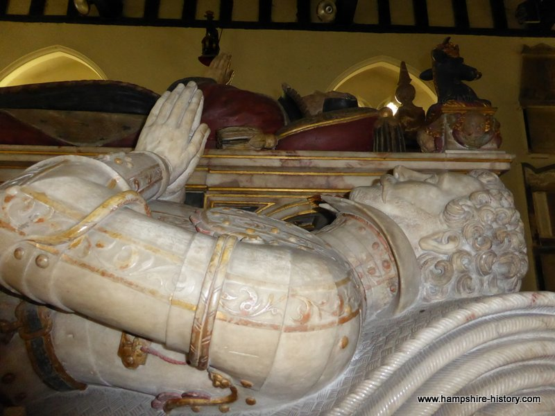 Henry Wriothesley on the Wriothesley monument