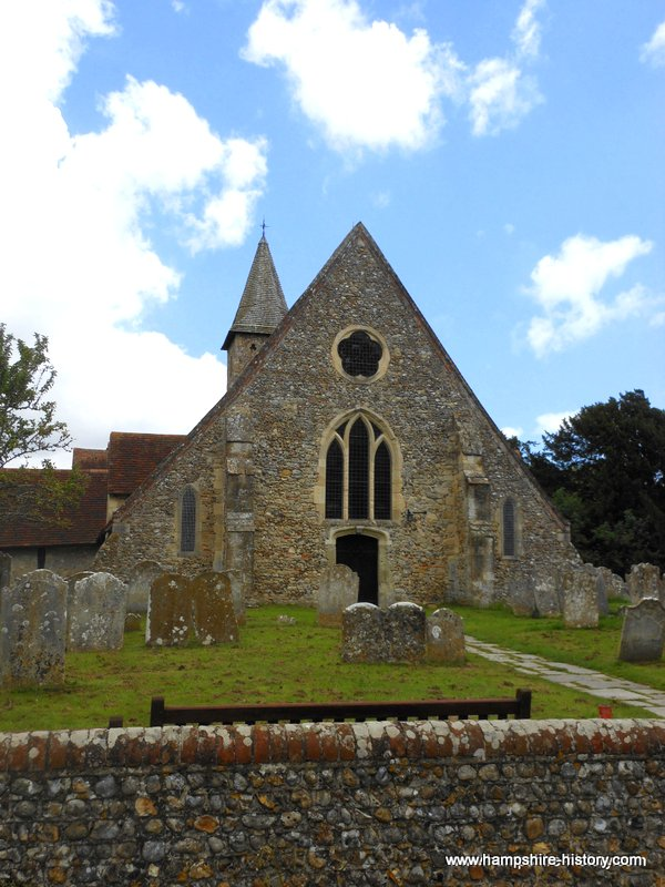 St Thomas a Becket Church Warblington