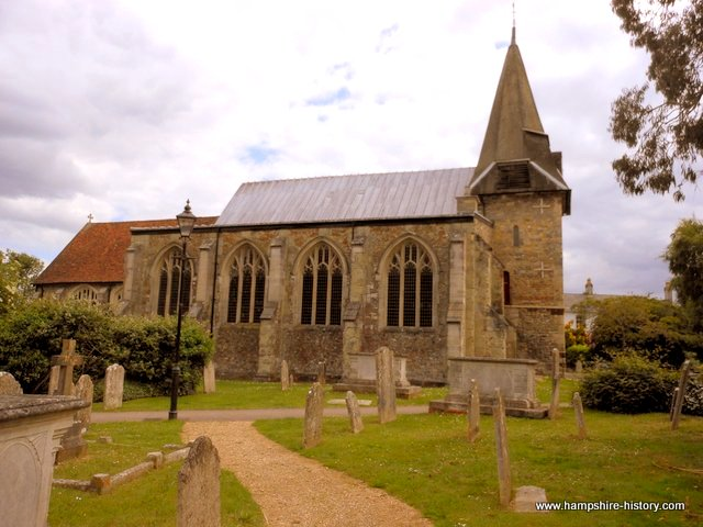 St Peters church Titchfield