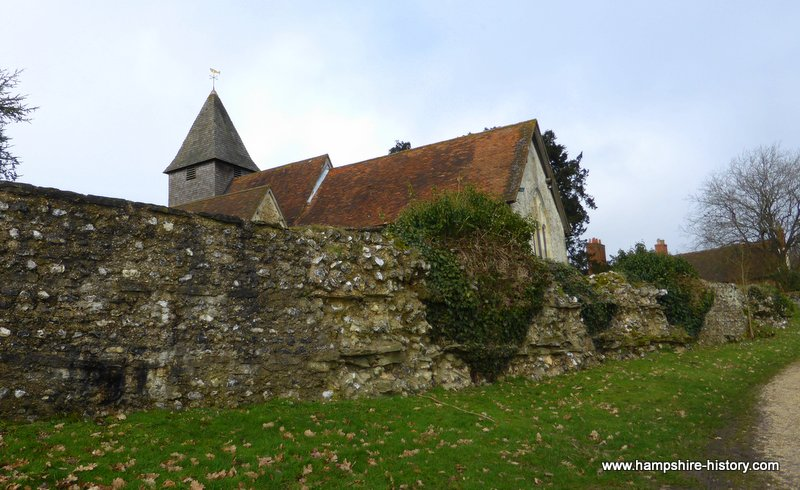 St Mary the Virgin Silchester Pagan, Roman, Christian Site