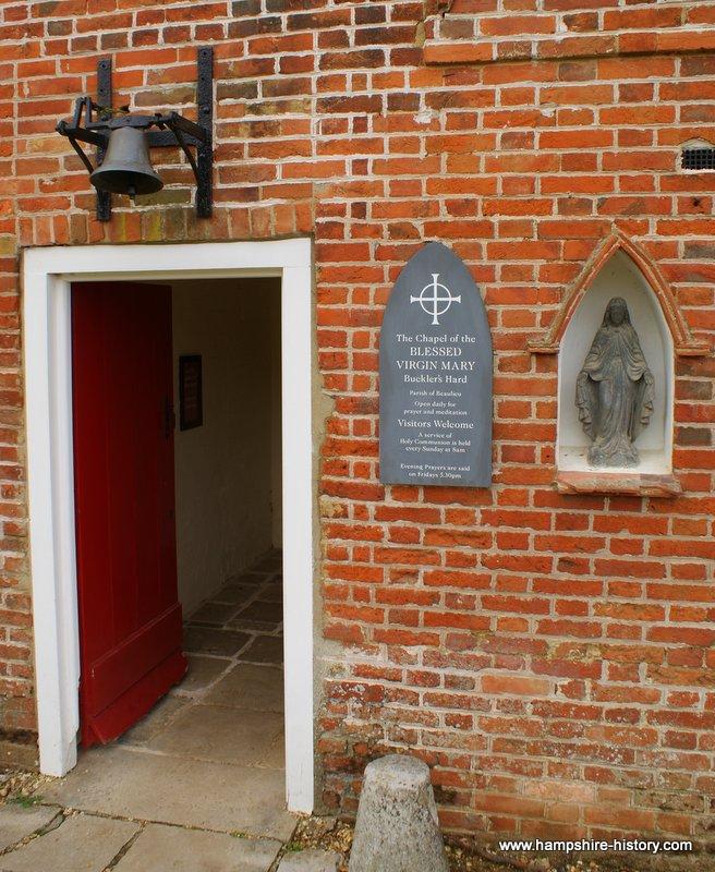 St Mary's Chapel Buckler's Hard