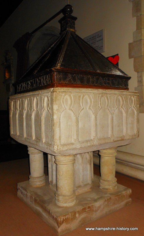 Baptismal Font Bentworth