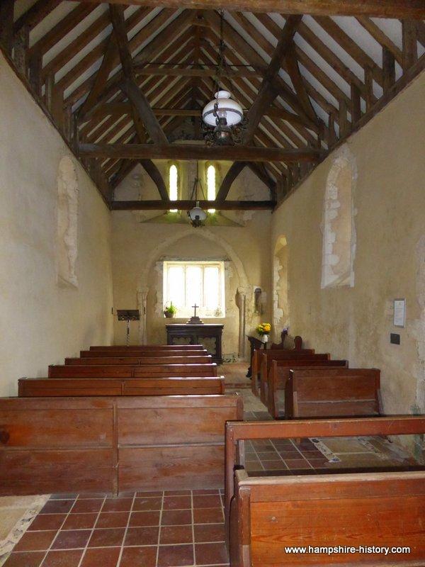 All Saints Church Little Somborne