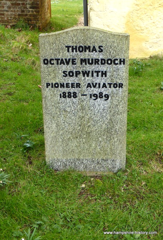 Sir Thomas Sopwith Aviator