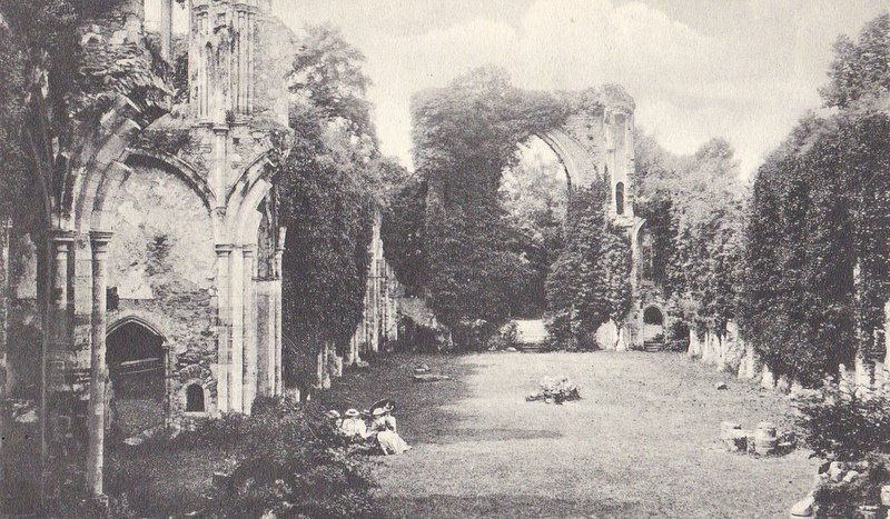A View of Netley Abbey 1909