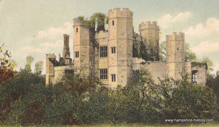 Ruins of Place House Titchfield 1910