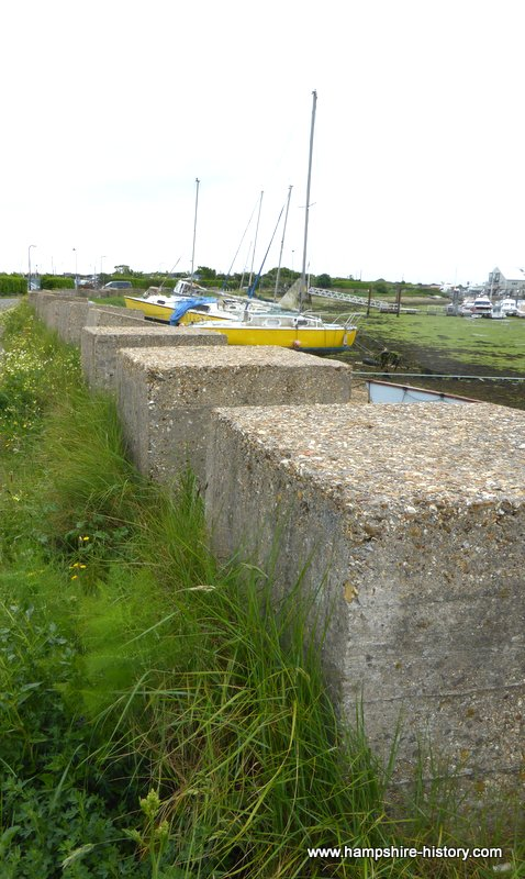 Anti – Tank Blocks Eastney