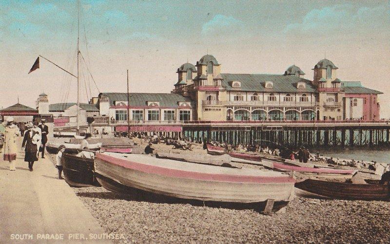 South Parade Pier Southsea 1928