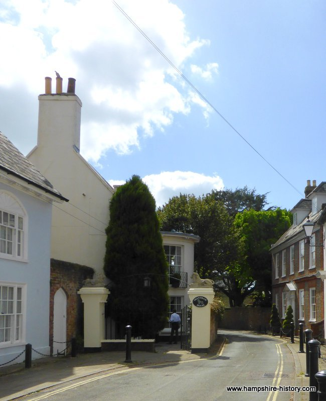 Merchants houses Emsworth