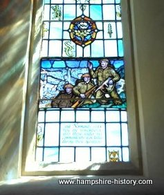D-Day Window Portsmouth Cathedral