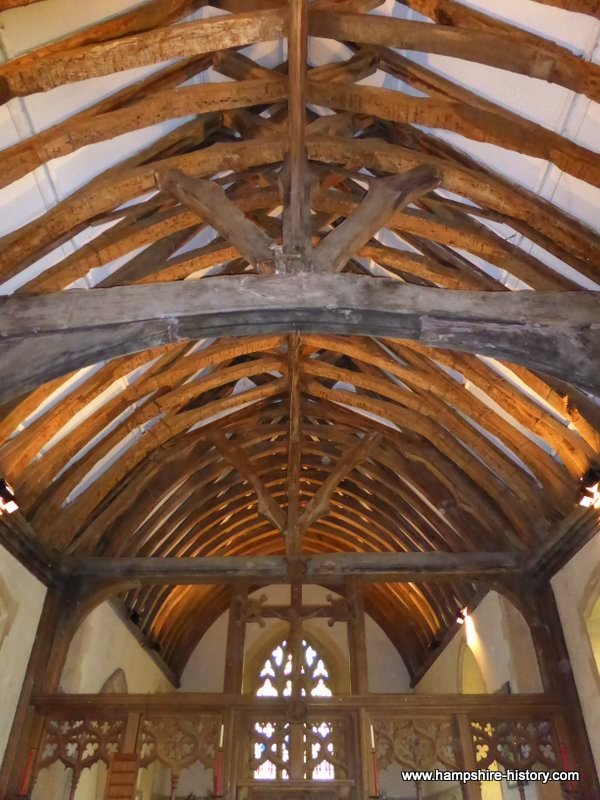 Roof structure Hartley Wespall Hampshire