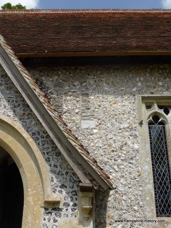 Quarley church Hampshire