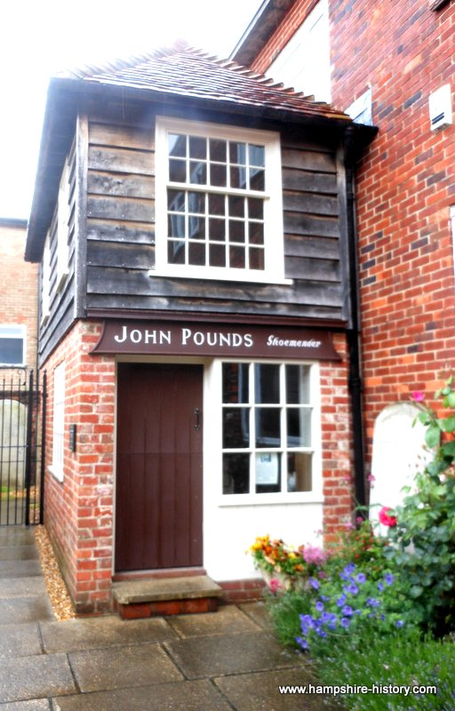 John Pounds workshop Portsmouth Hampshire