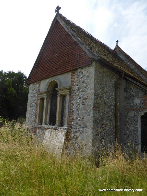 Quarley church