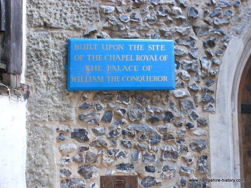 William the Conqueror's Palace Winchester