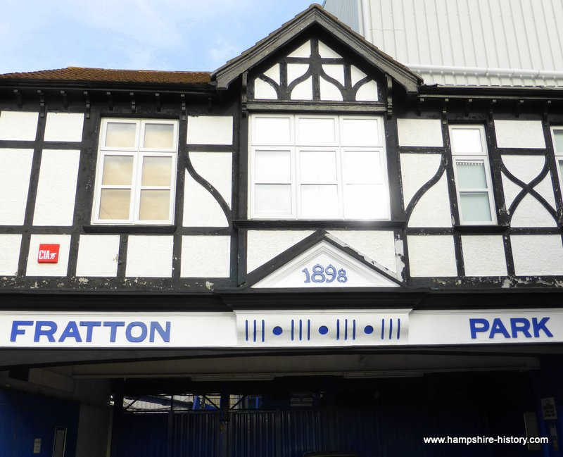 Fratton Park home of Portsmouth Football Club