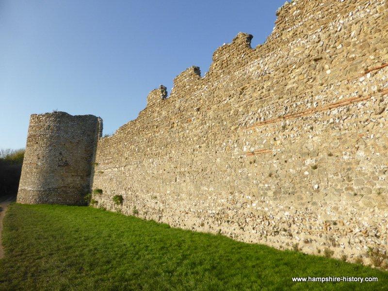 Portchester Castle History