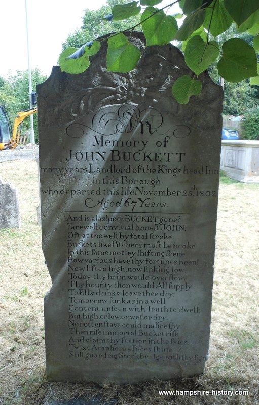 John Buckett Headstone Stockbridge