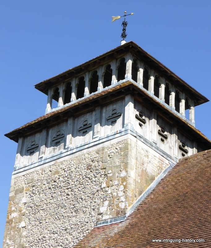Meonstoke Church 15th Century Tower