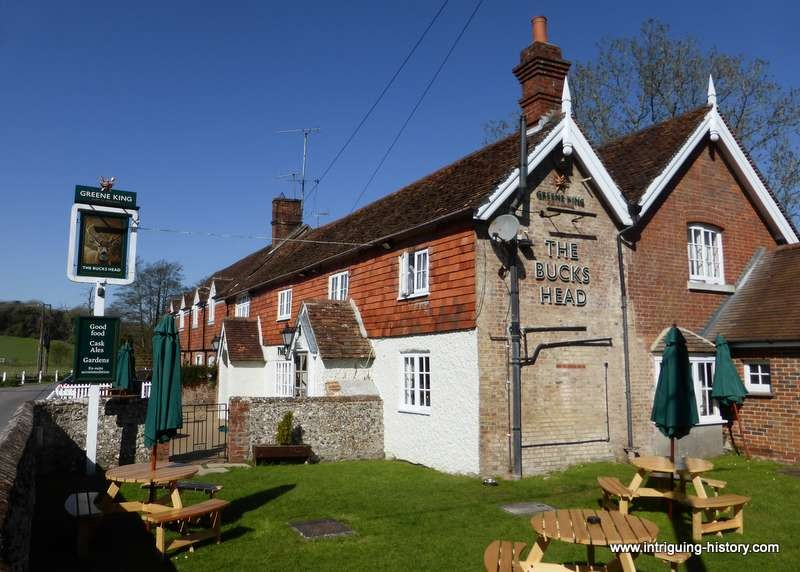 Bucks Head Inn  by the River Meon Meonstoke