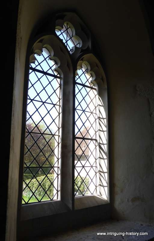Meonstoke church Early English Window