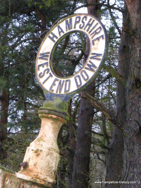 Hampshire Fingerposts