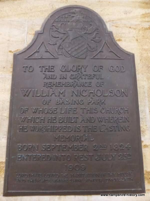 William Nicholson Memorial Privett