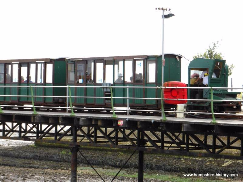 Hythe Pier Passenger Train