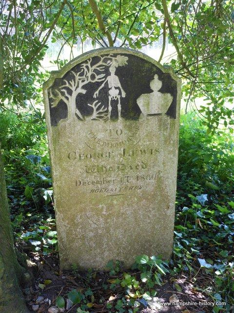 Hampshire headstones