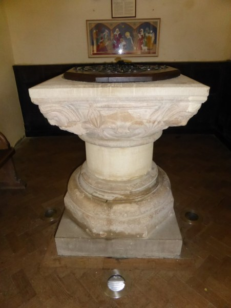 Michelmersh Font Hampshire