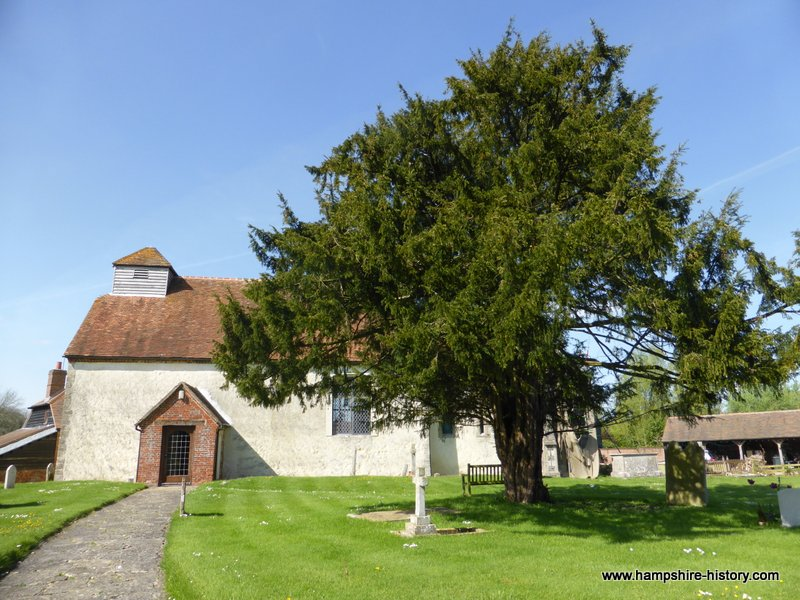 St Mary's Church Tufton Hampshire