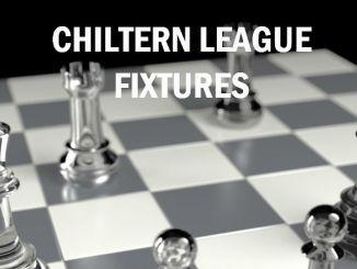 Chiltern League 2019-20 Fixtures