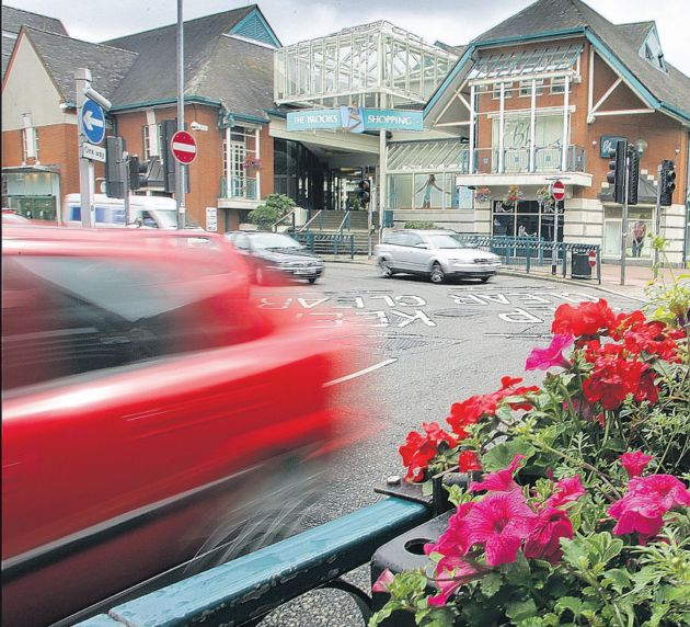 Hampshire Chronicle: Cutting carbon footprint: Winchester's St George's Street