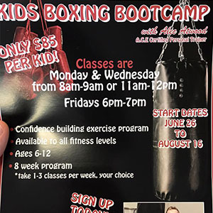 Kids Boxing Bootcamp