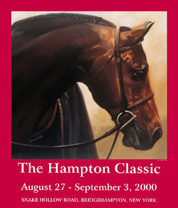 2000 Hampton Classic Poster