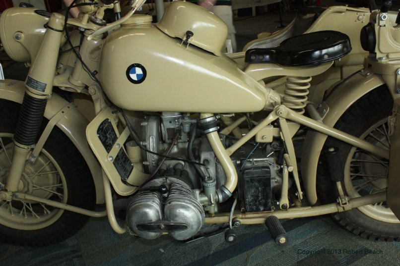 Bmw Mtrcycle Sidecar Cycle Left Side