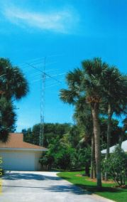 50ft Tower w/Antennas