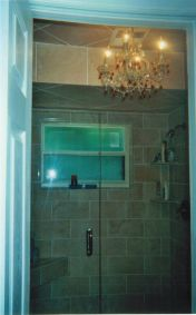 Bathroom #1 Shower (Glass Doors)43