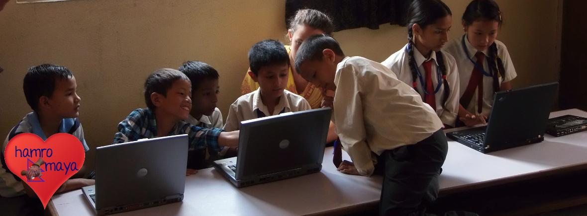 Laptops für Compact English School
