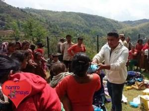 Bei der Erdbebenhilfe ist Zusammenarbeit wichtig!