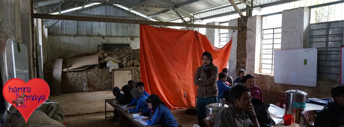 Bau einer Schule in Ikudol