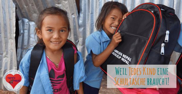 Eine Schultasche für jedes Kind.