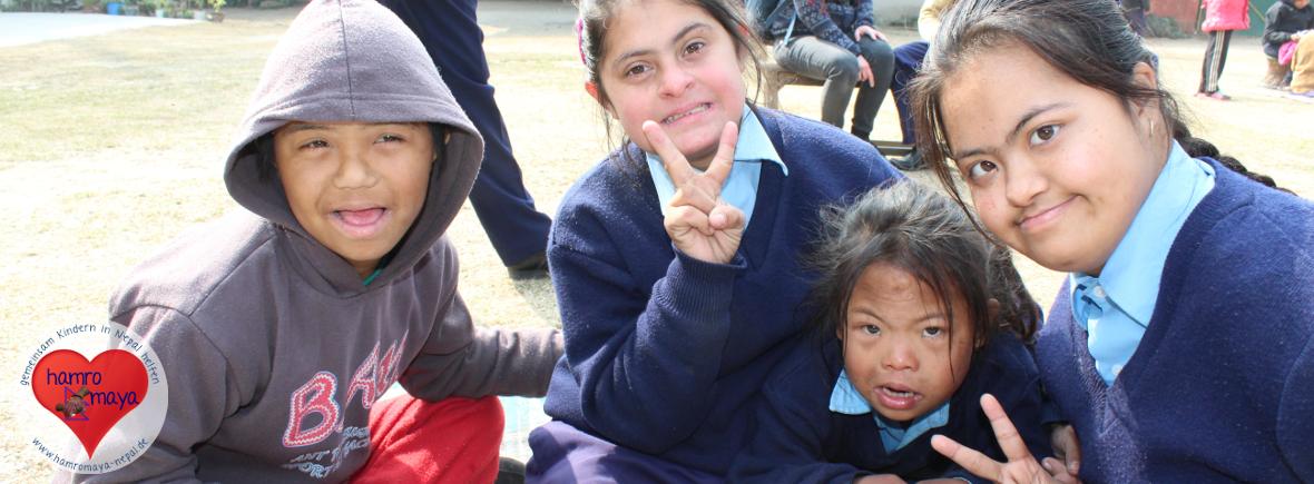 Die Behindertenschule Nirmal Bal Bikas ist unser Großprojekt in Kathmandu