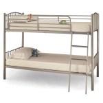 Serene Oslo Twin Bunk Silver Bunk Bed Online Bed Mattress Store Shops In South London Surrey Hamseys