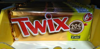 Twix Tchibo Cafissimo mini Kapselmaschine